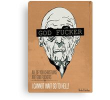 God Fucker Canvas Print