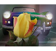 triumph of the yellow rose Photographic Print