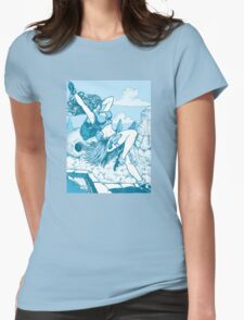 Pulp hero Womens Fitted T-Shirt