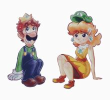 Luigi and Daisy by SaradaBoru