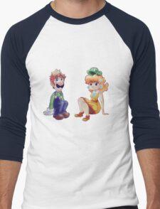 Luigi and Daisy Men's Baseball ¾ T-Shirt