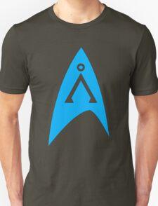 Star Trek and Star Gate combo blue  T-Shirt