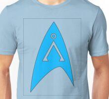 Star Trek and Star Gate combo blue  Unisex T-Shirt