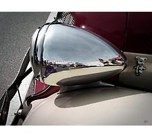 silver mirror Photographic Print