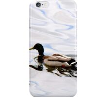 Duck on the Water iPhone Case/Skin