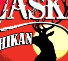 Ketchikan Alaska Sunset Sticker