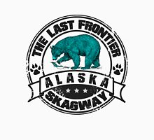 Skagway Alaska Bear Men's Baseball ¾ T-Shirt