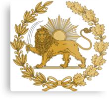 Lion & Sun Emblem of Persia (Iran) Metal Print