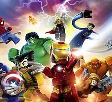 Lego Marvel Avengers Assemble by TheTavo32