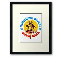 Bora Bora 1881 Framed Print