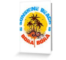 Bora Bora 1881 Greeting Card