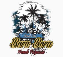Bora Bora Beach Day by dejava