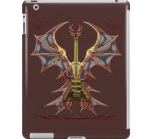 Ghost Gothic Bat Guitar iPad Case/Skin