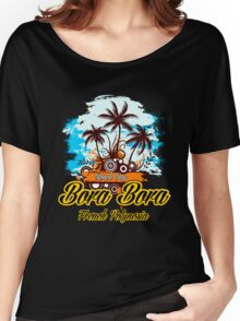 Party Land In Bora Bora Women's Relaxed Fit T-Shirt