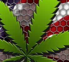 America is Pro Cannabis Sticker