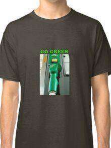 Go Green powerstroke cummins duramax  Classic T-Shirt