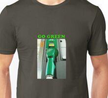 Go Green powerstroke cummins duramax  Unisex T-Shirt