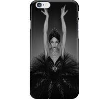 Ballerina in Black iPhone Case/Skin