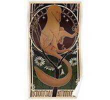 Raptor-Nouveau Poster