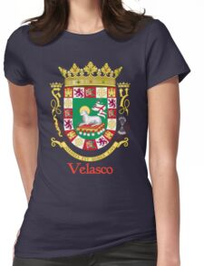 Velasco Shield of Puerto Rico Womens Fitted T-Shirt