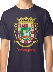 Velasquez Shield of Puerto Rico Classic T-Shirt