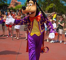Goofy In the Parade by Chris Lanam