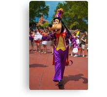Goofy In the Parade Canvas Print