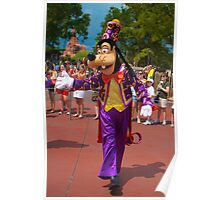 Goofy In the Parade Poster
