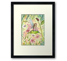 Spring Magic Fairy Fantasy Art by Molly Harrison Framed Print
