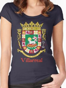 Villarreal Shield of Puerto Rico Women's Fitted Scoop T-Shirt