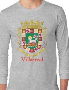 Villarreal Shield of Puerto Rico Long Sleeve T-Shirt