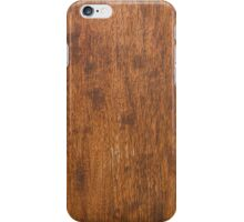 Wood texture iPhone Case/Skin