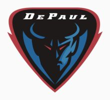 "College University ""DePaul Blue Demons"" Sports Baseball Basketball Football Hockey by artkrannie"