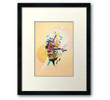 Quantum of Solace Framed Print