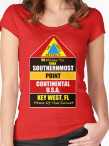 Key West Conch Republic Women's Fitted Scoop T-Shirt