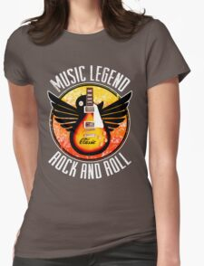 Music Legend Womens Fitted T-Shirt