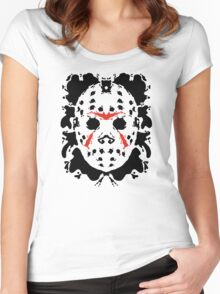 13th Inkblot Women's Fitted Scoop T-Shirt