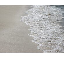 Gentle Waves of the Caribbean  Photographic Print