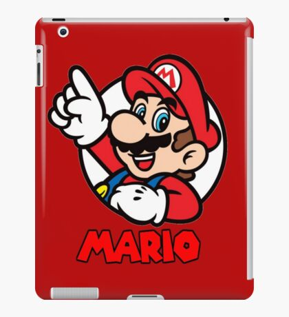 Mario Bubble iPad Case/Skin