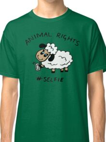 Selfie for Animal Rights Classic T-Shirt