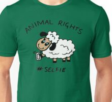 Selfie for Animal Rights Unisex T-Shirt