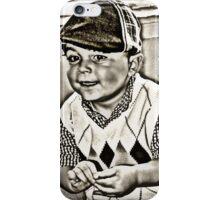 Vintage 1940's- Paper Boy! iPhone Case/Skin