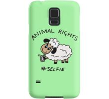 Selfie for Animal Rights Samsung Galaxy Case/Skin