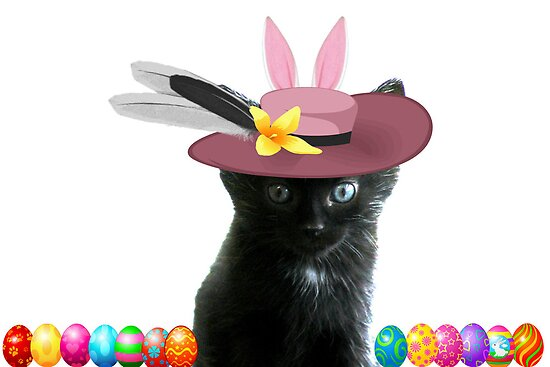 All Dressed Up In My Easter Bonnet by Ladymoose