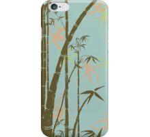 bamboo pond iPhone Case/Skin