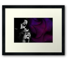 woman4 Framed Print