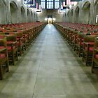 West Point Chapel (interior) by Trish Meyer
