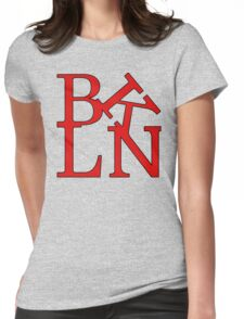 Brooklyn logo Womens Fitted T-Shirt