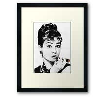 Audrey gone Bad Framed Print