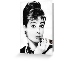 Audrey gone Bad Greeting Card